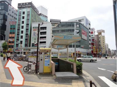 名古屋駅からの道案内(2)