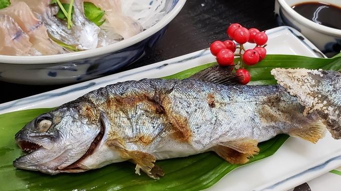 山の恵み シャモ鍋に河辺名物・川魚料理!〜冬の味覚満喫プラン〜