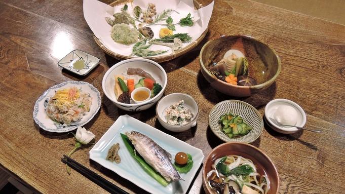 ≪山里に佇む全4室の古民家≫地元の食材で作る心のこもった田舎料理でおもてなし