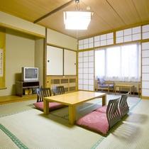 *【客室例/和室】畳のお部屋でのんびりお寛ぎ下さい。