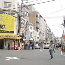 *【日本橋 オタロード】大阪日本橋でんでんタウンのオタロード。当ホテルから歩いて20分ほど。
