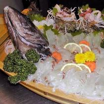 地魚の船盛り 500
