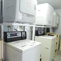 洗濯機/150円・乾燥機/100円