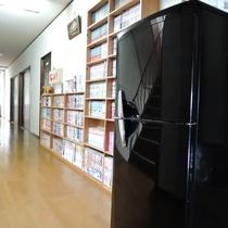 冷蔵庫(2階廊下にあります。)→自由に使用可能!