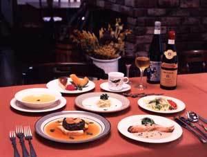洋食のコース料理