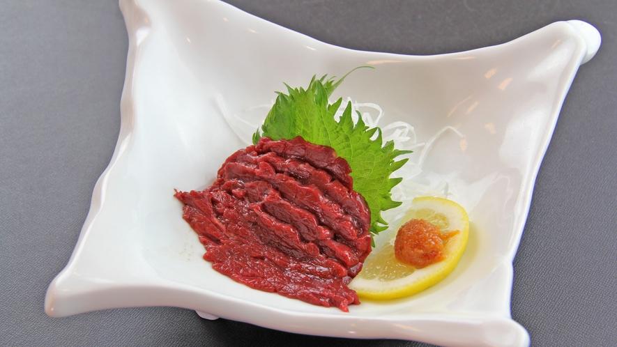~桜肉のたたき~