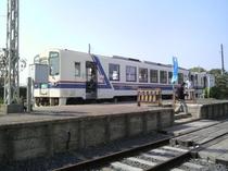茨城交通カラーのキハ3710形
