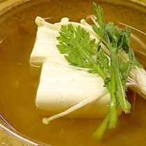*【ご夕食一例】/大山名産の自家製豆腐に舌鼓