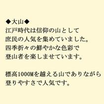 ケーブルカーから大山寺へ→