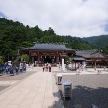 """*大山阿夫利神社/古代より""""国を護る山・神の山"""" として崇められる神社。"""