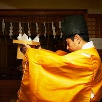 *【お祓い】神道において、罪や汚れ、災厄などを取り払う行い