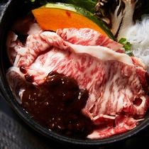 *【ご夕食一例】/神奈川ブランドやまゆり牛のすき焼き