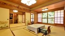 *和室二間(客室一例)/四季の移ろいを五感で感じながら、心安まるひと時をお過ごし下さい。