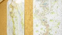 *【大山参道マップ】/全て手書き。江戸時代の大山と現代の大山を見比べて。人気はやはり江戸時代の地図。
