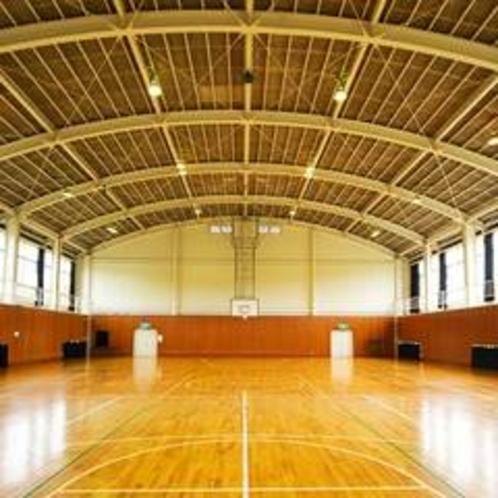【館内設備】体育館