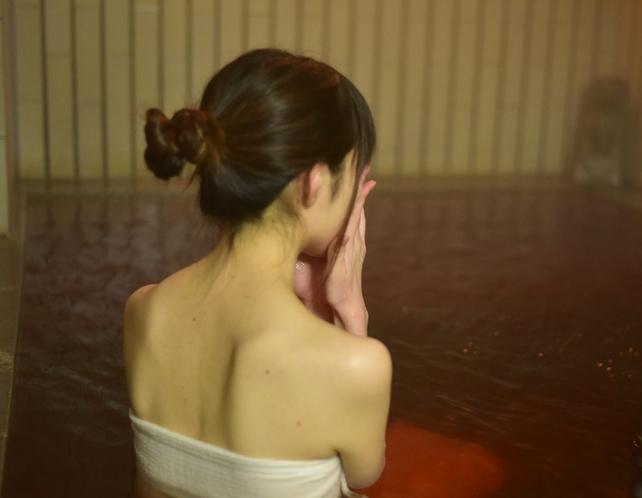海藻エキス風呂(肌がつるつるになり女性に好評)