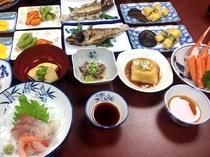 夕食(海の幸)