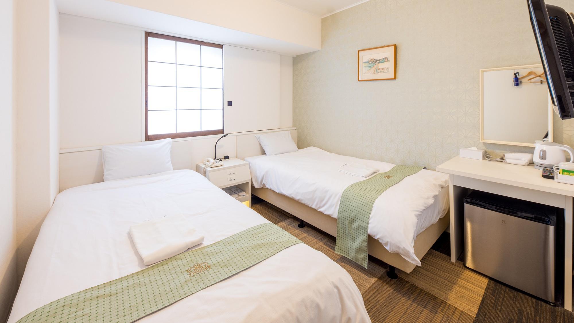 【客室】コンパクトツインルーム