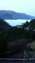 早朝の雲海☁️