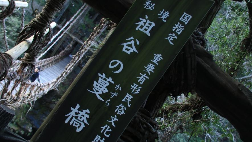 ☆祖谷のかずら橋