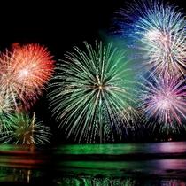 【湯河原温泉海上花火大会】8月3日(土)湯河原海水浴場で20:00から6000発の打ち上げが開催され