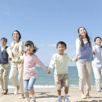 【3世代プラン】湯河原海浜公園まで車で9分。じ~じ&ば~ばと一緒に温泉旅行♪温泉デビューにも!