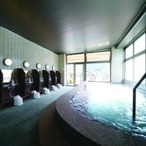 【女性用内風呂】 湯河原温泉は美人の湯としても名高く、赤ちゃんにも優しい温泉です