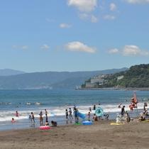 【湯河原海水浴場】7月13日(土)から8月31日までお楽しみいただけます。