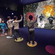 【小田原城NINJA館】お子様向けのアトラクションがあり楽しむことができます。