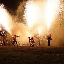 【灯りの祭典】9月27日・28日に開催されます。手筒花火は28日(土)泉公園で行われます。