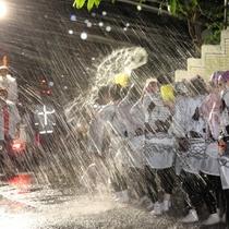 【湯かけまつり】5月25日(土)不動滝から泉公園にかけて神輿が練り歩きます。必見の価値があります!