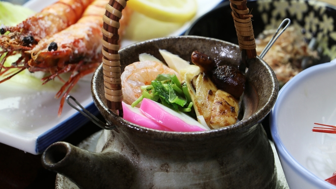 【巡るたび、出会う旅。東北】◇松茸土瓶蒸しがサービス♪湯治文化満載の一晩[1泊2食]
