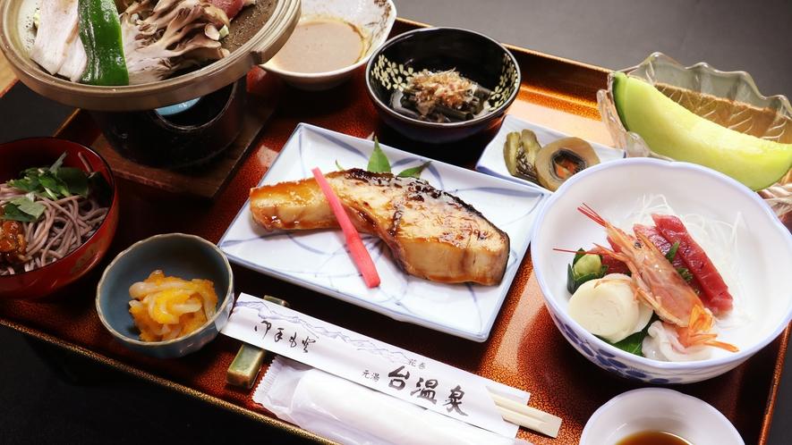 ■ビジネス・湯治■ボリューム満点の魚は日替わりです。何が出るかは当日のお楽しみ♪