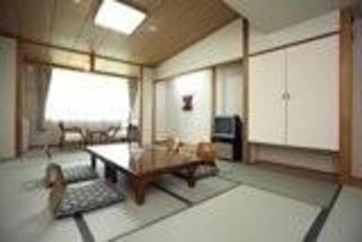 客室一例/やっぱり畳の上が一番。