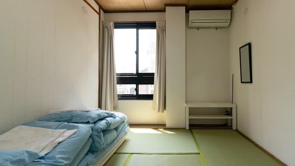 【禁煙】エコノミー和室|Wi-Fi無料(4.5〜5.5畳)