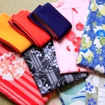 選べる色浴衣サービス