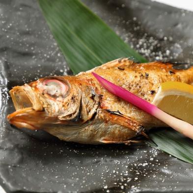 お部屋専用の貸切風呂♪アワビ釜飯と高級魚のどぐろ塩焼き付き!【旬香会席】アワビ踊焼付!