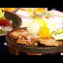 贅沢!地元食材を生かした料理の数々