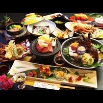-kenran-剣爛 お料理の一例