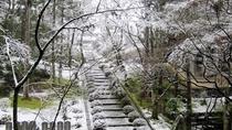 *【東光院石段】冬になると積雪し、厳かな雰囲気に包まれます。