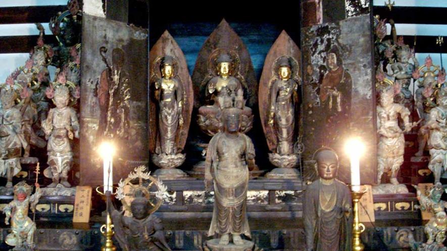*10月23日~11月第2日曜に「秘仏宝物展」開催。平素目にする事の出来ない重文秘仏をご覧頂けます