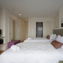 ペントハウス ベッドルーム例