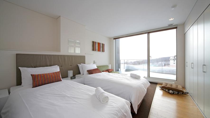 【1~3ベッドルーム】寝室