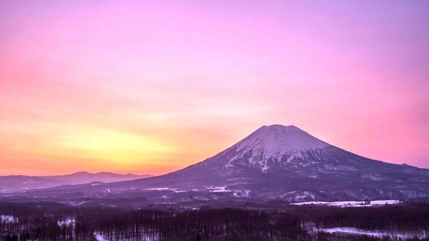 雄大な「蝦夷富士」羊蹄山