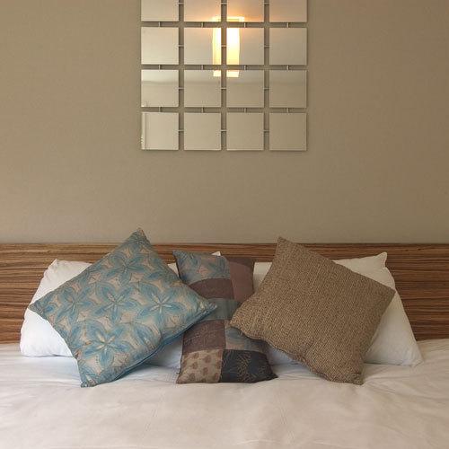 ダブルベッドのお部屋一例です。