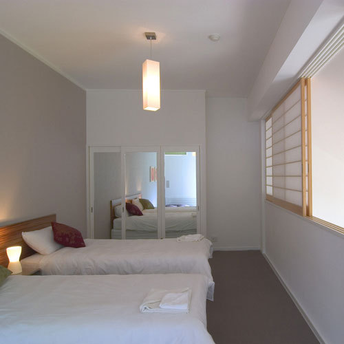 ツインベッドタイプのお部屋一例です。