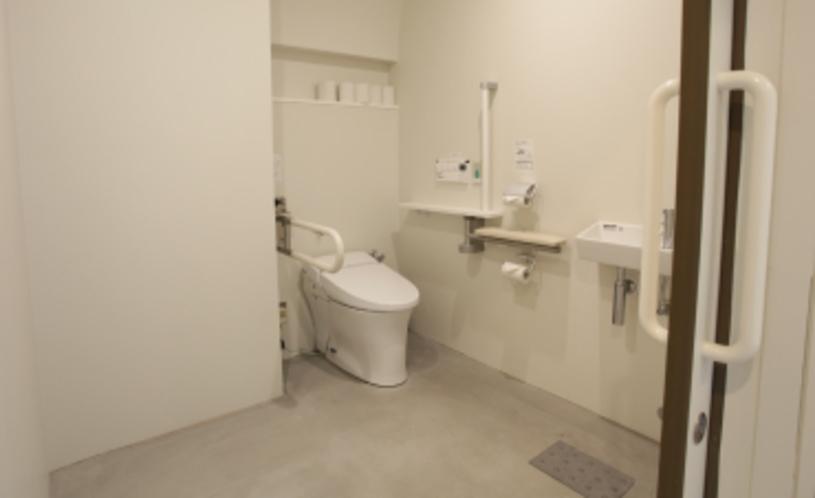 身体障がい者用トイレ