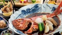名物「金目鯛の姿煮」のふわっふわの食感と深い味わいを是非ご堪能下さい!※写真は一例