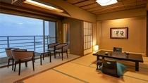 【スタンダード和室】全室海向き♪全てのお部屋から海の近さを体感して頂けます。