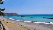 お部屋・お食事処・お風呂からはこの距離で東伊豆の海をご体感頂けます!